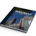 Boek 'Monument in het blauw'